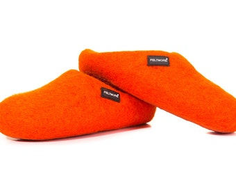FELTMORE slippers orange