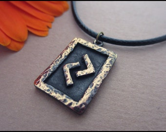 Jera Rune Pendant - Harvest and Cycle