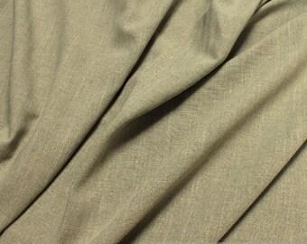 Fabric cotton rayon reed green slub LARP blended fabric viscose
