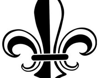 Fleur De Lis Vinyl Decal  30 Colors to choose from Multiple Sizes New Orleans, Fleur De Lis Sticker, Fleur De Lis decal
