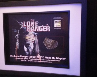 The Lone Ranger Johnny Depp's Tonto Movie Prop appliance with COA!