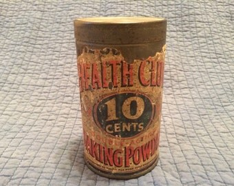 Sale! 1930's Health Club Baking Soda