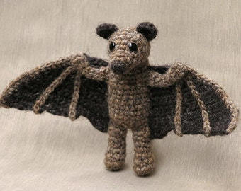 Crochet amigurumi fruit bat pattern