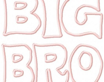 Big Bro Applique