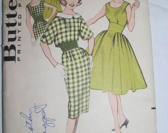 Vintage Butterick 1960 Pattern #9314