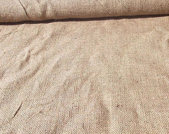 Burlap fabric 40 Inches Wide Natural Jute
