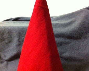 Basic hand sewn felt Santa, Gnome, Wizard, Holiday, or Birthday hat