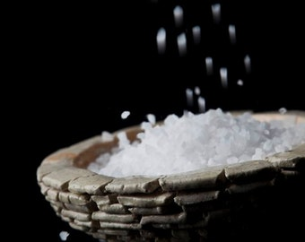Greek Fleur de Sel organic 100% natural salt 100gr.