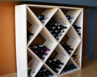 120 Bottle Ultimate Wine Cube (Pine) by VinoGrotto