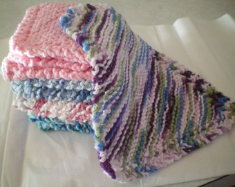 Awesome Hand Made knitted Dish Cloths