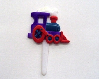 Train Cupcake Picks