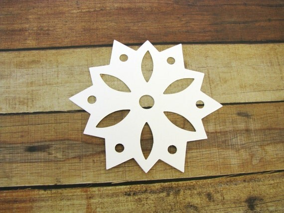 large snowflake diecutbsnowflake decor snowflake cut outs