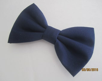 Navy blue bow tie, Men navy blue bow tie, Navy blue bow tie for boy, Boy navy blue bow tie. Wedding bow tie. Navy blue bow tie for men