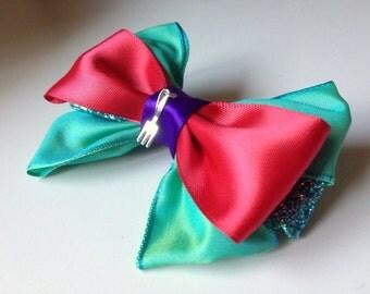 Little Mermaid/Ariel Hair Bow