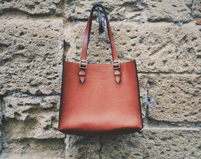 Rigid Design by George • • leather handbag