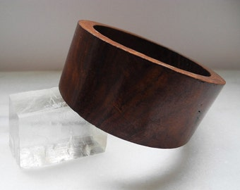 Large Wood Bangle