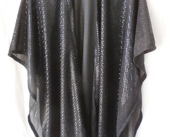 Black Metalic wrap---BKDT020915