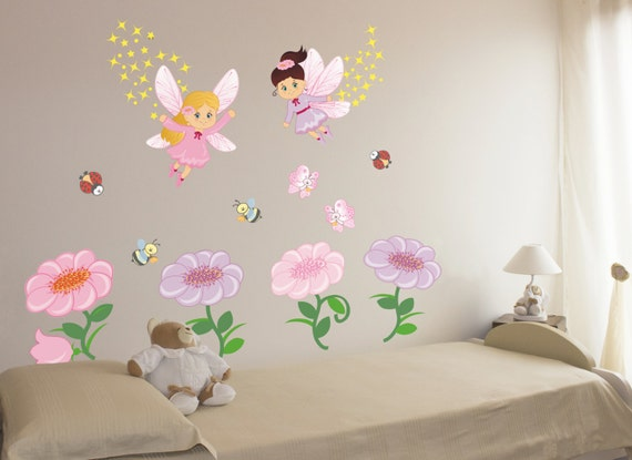 Wall decals wall stickers bambini adesivi murali nursery - Wall stickers camerette ...