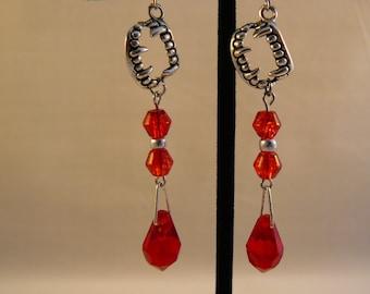 Vampire Fangs Earrings