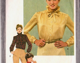 Simplicity 9713 Vintage 1980s Sewing Pattern