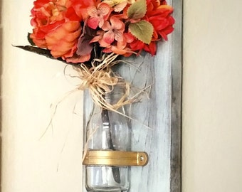 Wall Vase/ Candle Holder