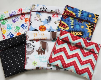 Mini Reusable Snack Bags