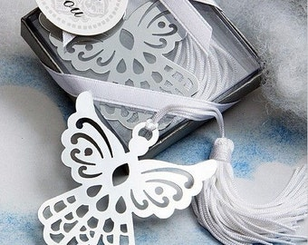 Angel Bookmark Favor Wedding Reception Religious Baptism Christening Bridal