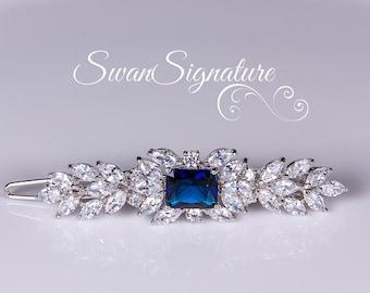 Bridal Hair clip, Swarovski Wedding Hair Accessory, Wedding jewelry, rhinestones, Hair Clip, Wedding jewelry Vintage. hc8