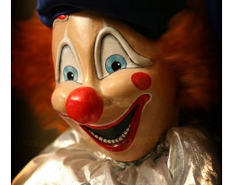 Movie Prop Replica Poltergeist Clown Unique Handmade Crafted Lifesize Creepy Clown Doll