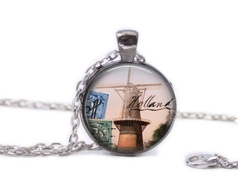 Holland Necklace Holland Jewelry Travel Necklace