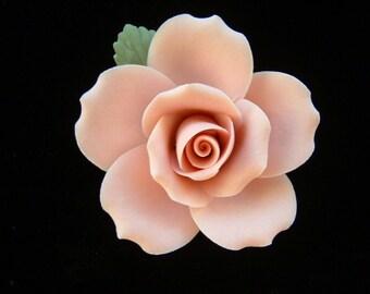 """Pink Porcelain Rose - 2"""""""