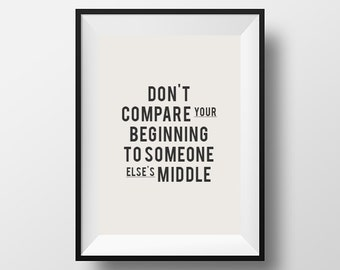 Printable, Printable Art, Printable Typography, Digital Download, Instant Download, Inspirational Print, Typography Poster, Home Decor