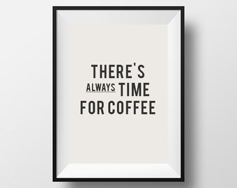 There's always time for coffee