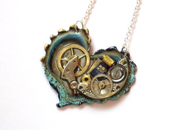 Heart of the Nebula Doctor Who Necklace