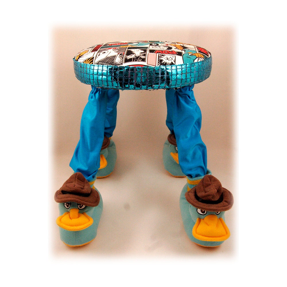 Footstool Perry the Platypus Children s Furniture