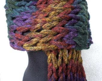 Chunky scarf, Oversized scarf, long scarf, gray scarf, winter scarf, light grey scarf, knit shawls, scarf gray,