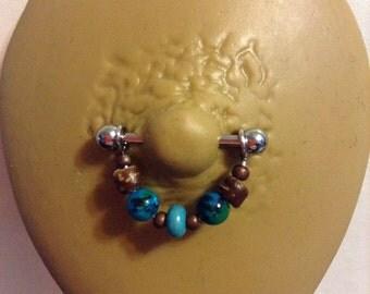 Nature Goddess Breast Jewelry