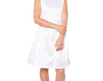White Macy Dress