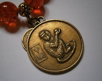 Chinese Zodiac Bracelet Monkey