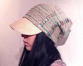 Ribbon Weaving Hat