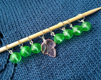 Gooseberry Stitch Markers (Set of 8) - Knitting Notions - Gifts for Knitters