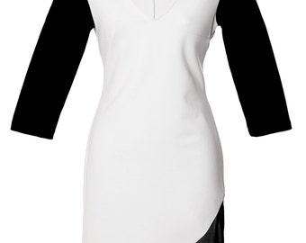 Colorblocked Binta dress