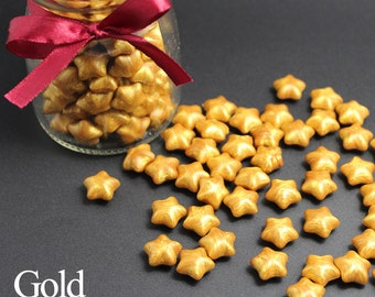 10/20/50/100pcs Gold Lucky star shaped Sealing Wax Sticks for Wax Seal Stamp