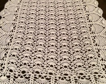 Heirloom Crochet Baby Blanket