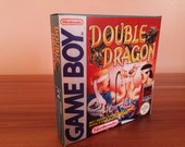 Game Boy Double Dragon  Repro Box with Insert NO GAME INCLUDED