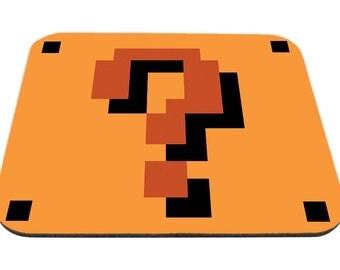 Super Mario Block Mousepad