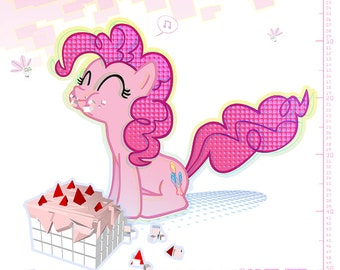 My Little Pony - Pinkie Polygon Pie