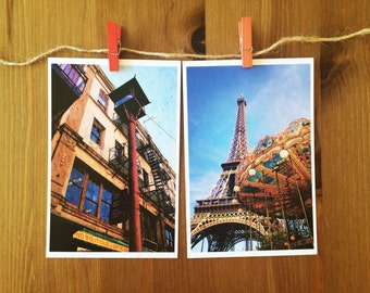 Travel Postcard Set