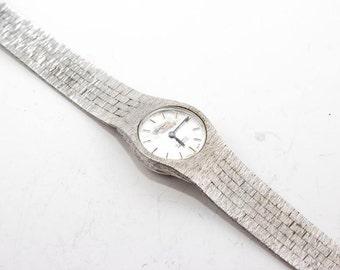 Vintage metal watch swiss made CARRONADE (hand wind) in perfect working order 4172