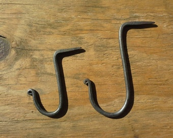 Forged iron hooks